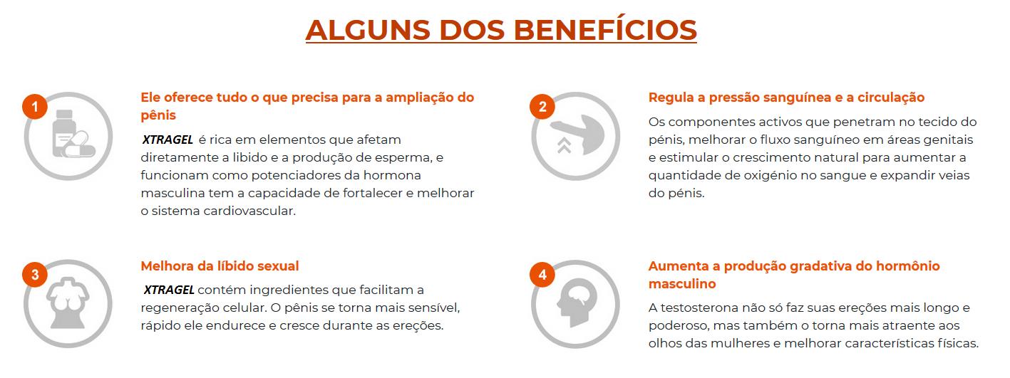 Benefícios Xtragel